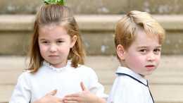 8歲喬治歪嘴像查爾斯, 夏洛特像極女王和戴安娜, 是威廉的心尖寵