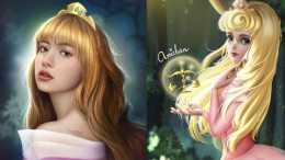 Black Pink來COS迪士尼公主, 樂佩與愛洛、都很適合Lisa