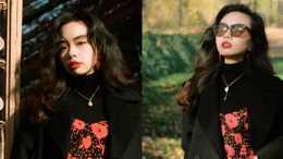 """秋冬黑色大衣太""""普通""""?試著搭配這些裙裝,讓你美得優雅又體面"""