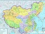 一中國人買了張地圖,很激動的去印刷,但一錯誤導致損失很多領土