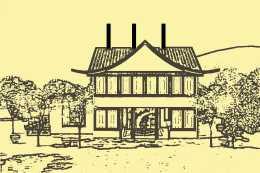 民間故事:地主欺負老木匠,木匠隱忍不發,在地主房頂立三根柱子